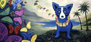 Hawaiian Blues by George Rodrigue